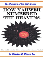 How Yahweh Numbered the Heavens