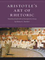 "Aristotle's ""Art of Rhetoric"""