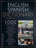 English Spanish Dictionary Thematic 1