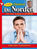 Chefarzt Dr. Norden 1131 – Arztroman