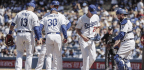 Dodgers' Relentless Offense Helps Erase Pitching Debacle In 8-7 Win Over Diamondbacks