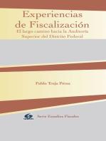 Experiencias de Fiscalización