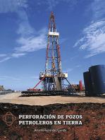 Perforación de pozos petroleros en tierra