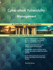 Cyber-attack Vulnerability Management A Complete Guide - 2019 Edition
