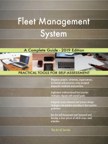 Fleet Management System A Complete Guide - 2019 Edition