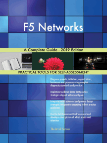 F5 Networks A Complete Guide - 2019 Edition