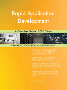 Rapid Application Development A Complete Guide - 2019 Edition