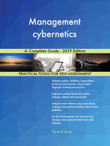 Management cybernetics A Complete Guide - 2019 Edition