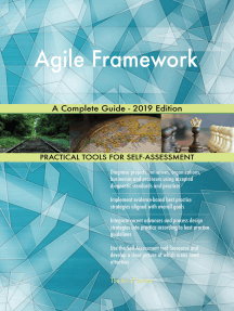 Agile Framework A Complete Guide - 2019 Edition