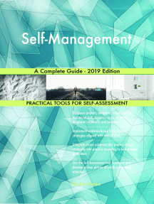 Self-Management A Complete Guide - 2019 Edition