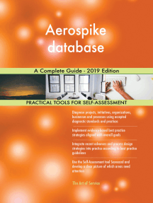 Aerospike database A Complete Guide - 2019 Edition