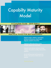 Capabilty Maturity Model A Complete Guide - 2019 Edition