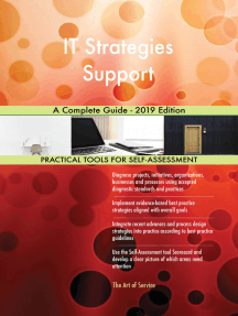 IT Strategies Support A Complete Guide - 2019 Edition