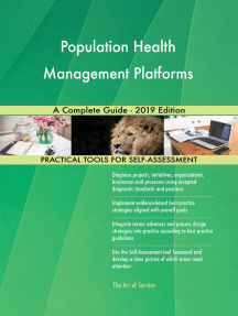 Population Health Management Platforms A Complete Guide - 2019 Edition