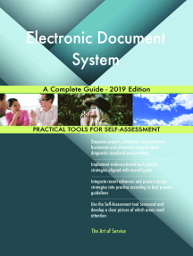 Electronic Document System A Complete Guide - 2019 Edition