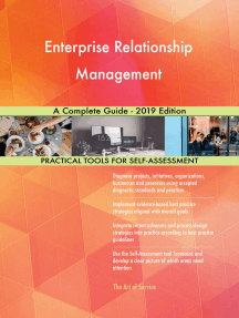 Enterprise Relationship Management A Complete Guide - 2019 Edition