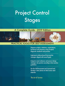 Project Control Stages A Complete Guide - 2019 Edition