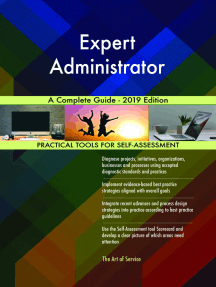 Expert Administrator A Complete Guide - 2019 Edition