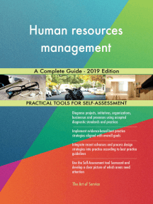 Human resources management A Complete Guide - 2019 Edition