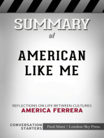 Summary of American Like Me