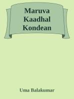 Maruva Kaadhal Kondean!