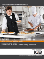 UF0057: ELABORACIÓN DE PLATOS COMBINADOS Y APERITIVOS (HOTR0108)