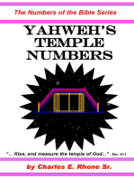 Yahweh's Temple Numbers