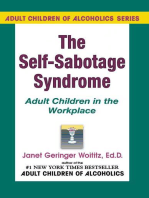 Self-Sabotage Syndrome