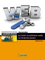 Aprender a crear su primera página web con 100 ejercicios prácticos
