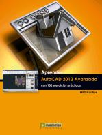 Aprender Autocad 2012 Avanzado con 100 ejercicios prácticos