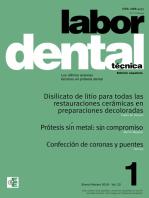 Labor Dental Técnica Vol.22 Ene-Feb 2019 nº1