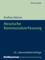 Hessische Kommunalverfassung