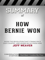 Summary of How Bernie Won