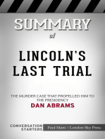 Summary of Lincoln's Last Trial
