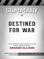 Summary of Destined for War