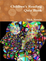 Children's Reading Quiz Book