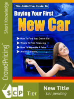 Buying Your First New Car
