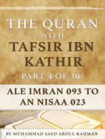 The Quran With Tafsir Ibn Kathir Part 4 of 30