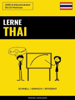 Lerne Thai