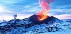 Volcanic Collisions Drive Long-term Climate Trends