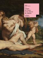 Llanto de Adonis en la muerte de Venus