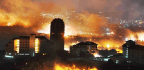 Wildfire Rips Along South Korea's Eastern Coast, Prompting National Emergency