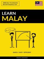 Learn Malay
