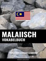 Malaiisch Vokabelbuch
