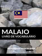 Livro de Vocabulário Malaio: Uma Abordagem Focada Em Tópicos