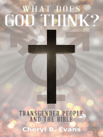 What Does God Think? Transgender People and The Bible