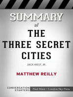 Summary of The Three Secret Cities by Matthew Reilly   Conversation Starters