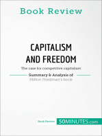 Book Review: Capitalism and Freedom by Milton Friedman: The case for competitive capitalism