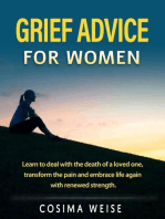 Grief advice for women