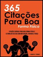 365 Citações Para Boa Forma Física